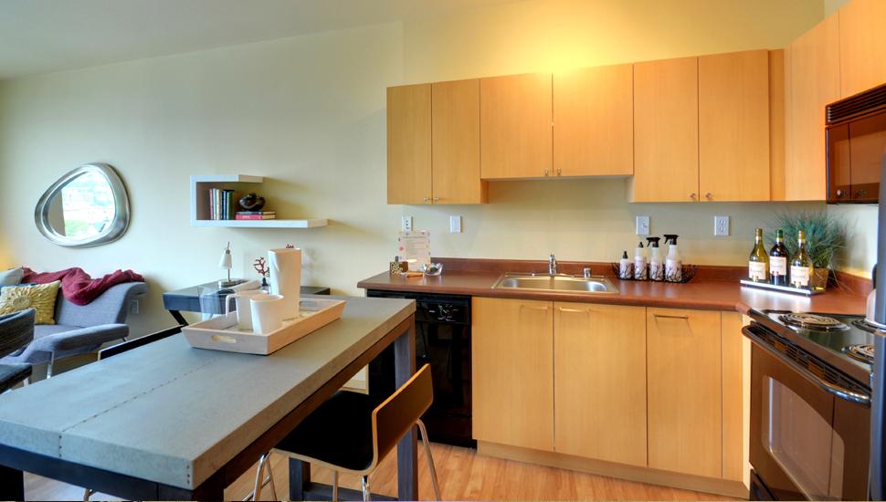 Alley24 Seattle Kitchen Alternative Suites Int