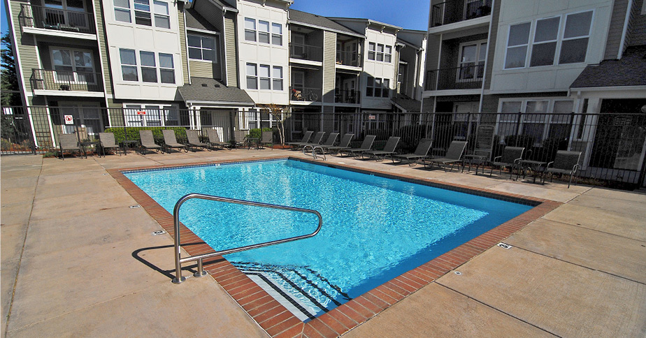 Outside Pool Area | Bella Terra Mukilteo